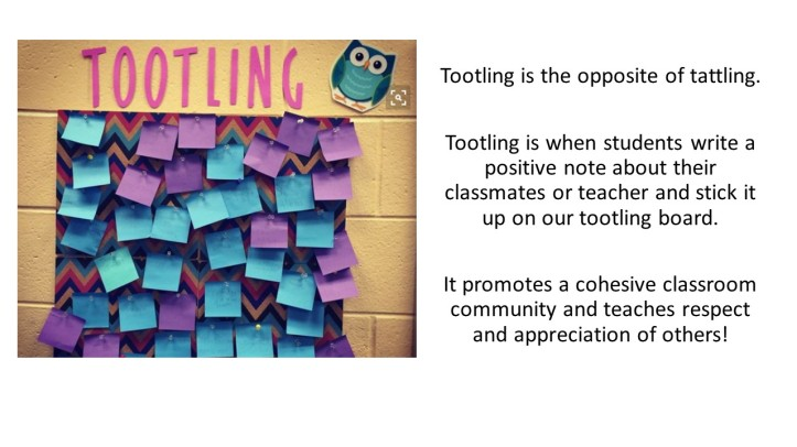 tootling
