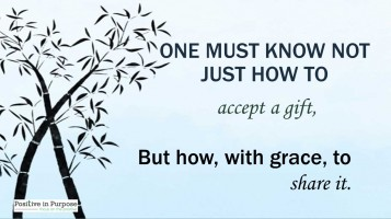 accept and share gifts