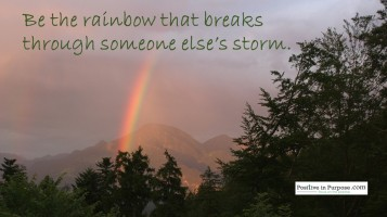 be the rainbow