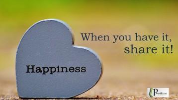 share hapiness